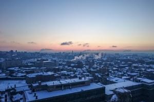 Житель Харькова рискнул ради красивого кадра