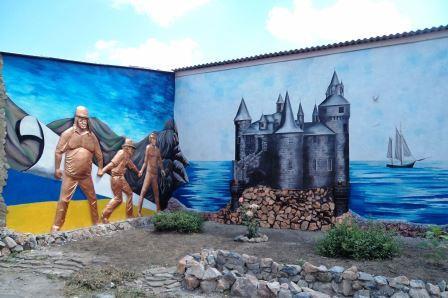 На Харьковщине разукрасили стены закрытого заведения (фото)
