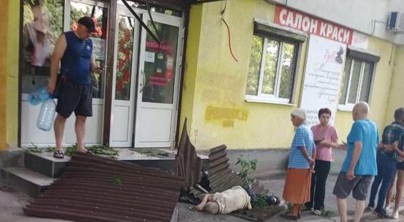 Пенсионер из Харькова, который хотел погибнуть на глазах прохожих, умер в больнице