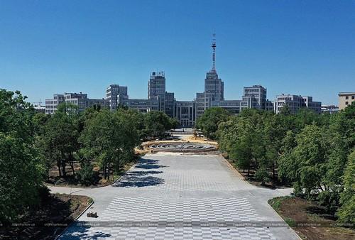 Стало известно, когда в Харькове заработает новый фонтан (фото)