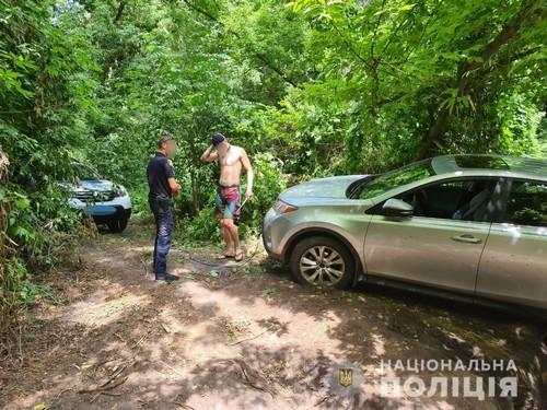 На Харьковщине застряла группа отдыхающих (фото)