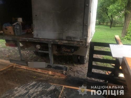 В Харькове уничтожили продуктовую палатку (фото)