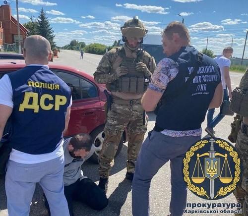 Под Харьковом захватили заложника (фото)