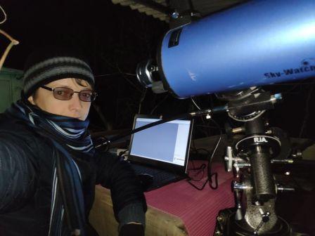 Харьковчанин провел онлайн-экскурсию на Луну (фото, вдео)