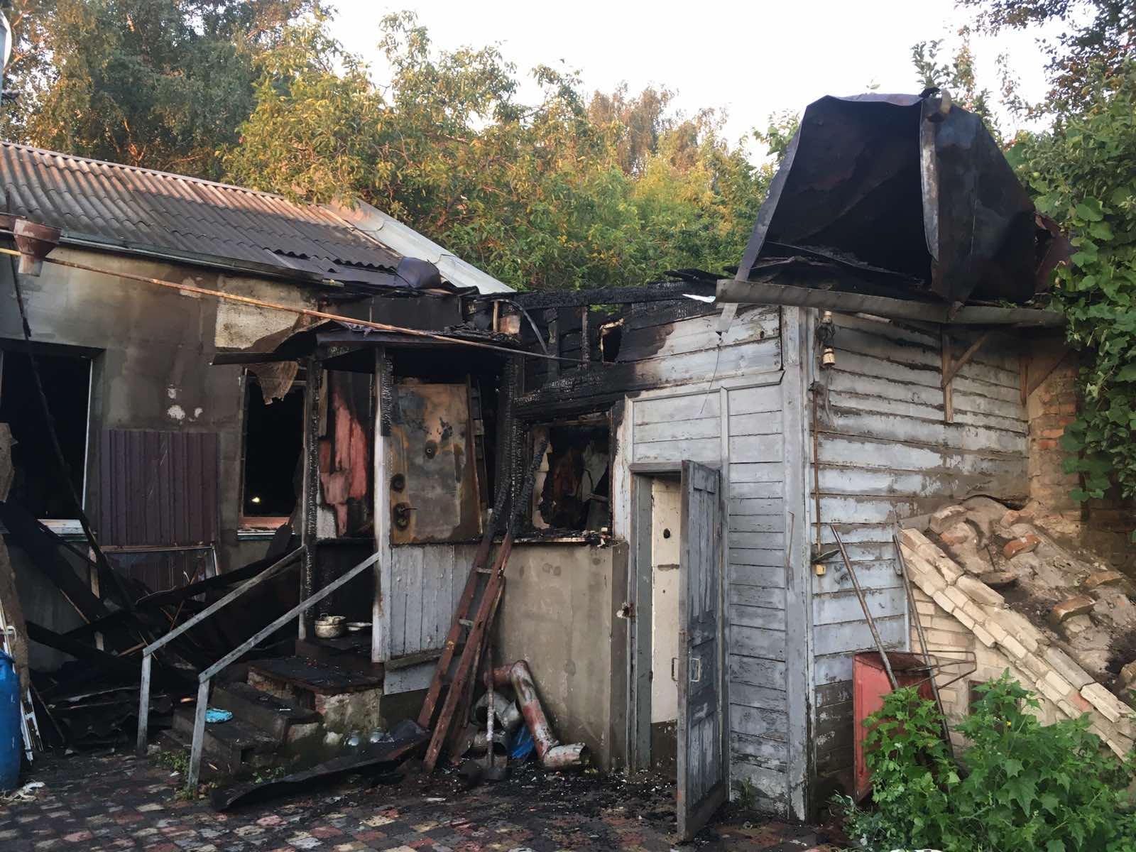 В Харькове умер мужчина, которого спасли из огня (фото, видео)