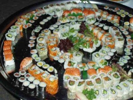 Харьковский студент поел суши на тридцать четыре тысячи гривен