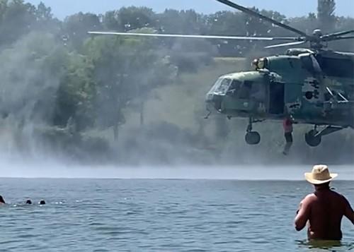 Высадка военных в водоем под Харьковом: в Минобороне сделали заявление