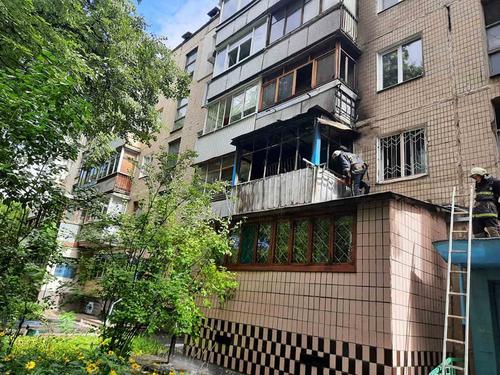 ЧП в Харькове: людям пришлось покинуть свои квартиры (фото)