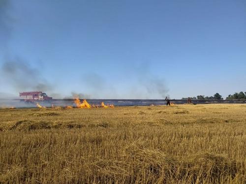На головы горожан посыпался пепел: происшествие на Харьковщине (фото)