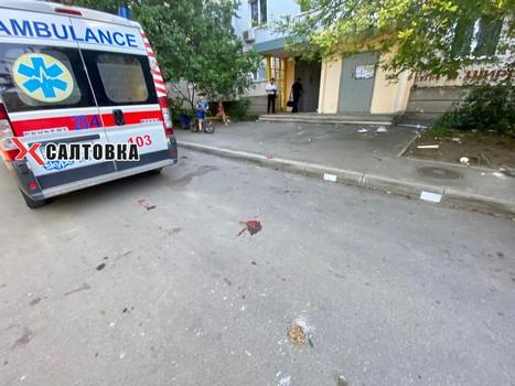 """""""Мою маму убили"""". Харьковчанин кричал на весь район и выбрасывал вещи из окна (фото)"""