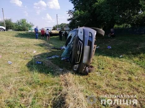 Пытался затормозить, но не получилось: смертельная авария на Харьковщине (фото)