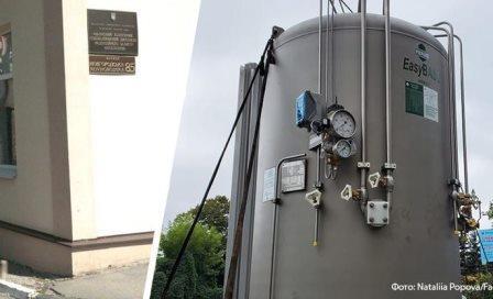 В Харькове установили резервуар с кислородом для больных коронавирусом