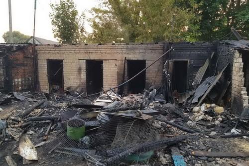 Под Харьковом стихия унесла имущество многих людей (фото)