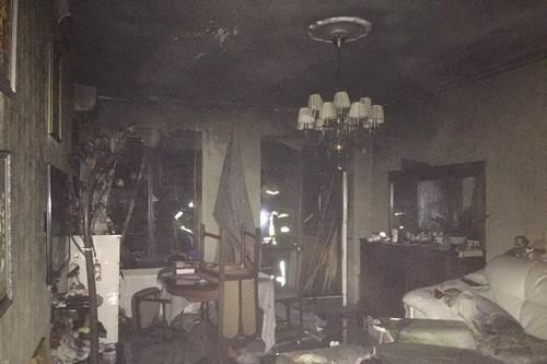 В Харькове мужчина оказался в смертельной ловушке в собственной квартире (фото)