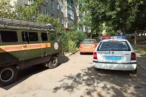 Не могла подняться: женщина оказалась в ловушке на Харьковщине (фото)