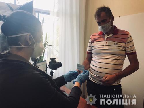 Погорельцам из Харьковской области помогают с документами (фото)