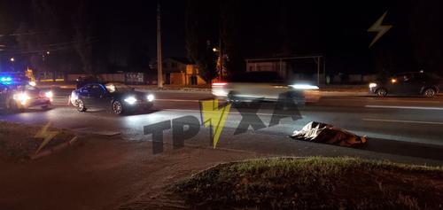 В Харькове на дороге погиб пешеход: обувь отлетела на несколько метров (фото, видео, дополнено)