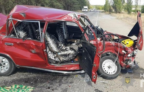 Смертельная авария в Харьковской области: женщина погибла мгновенно