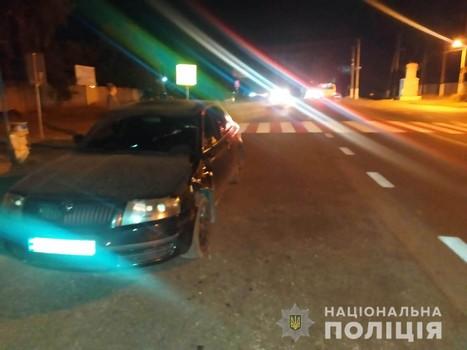 ДТП на Харьковщине: мужчина дважды оказался под колесами (фото)