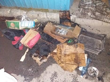 Пожар на рынке в Харьковской области: подробности (фото)