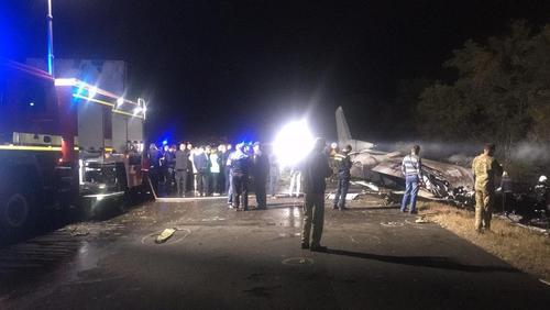 Падение самолета под Харьковом: поиски без вести пропавших продолжаются