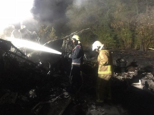 Авиакатастрофа под Харьковом: озвучены версии