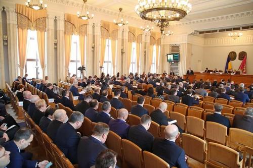 Сессию Харьковского облсовета перенесли из-за болезни