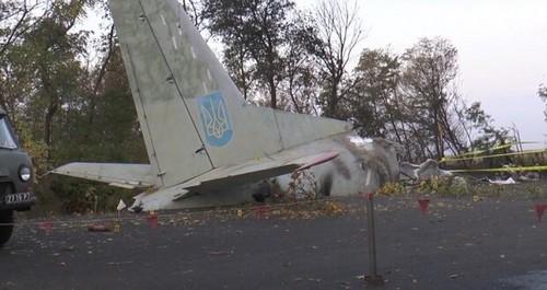 Авиакатастрофа на Харьковщине: на месте крушения установили памятник (фото)