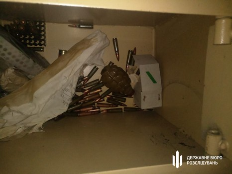 Подозрительные запасы обнаружили у харьковского силовика (фото)