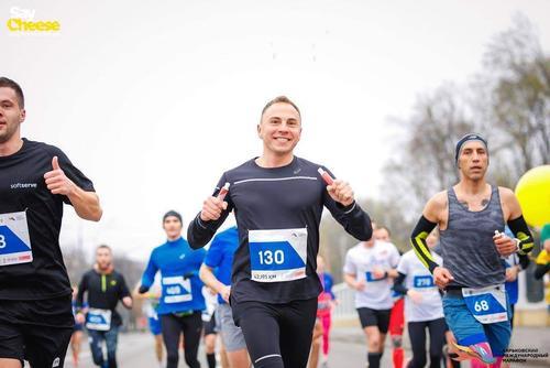 Харьковчане оказались лучшими на домашнем марафоне