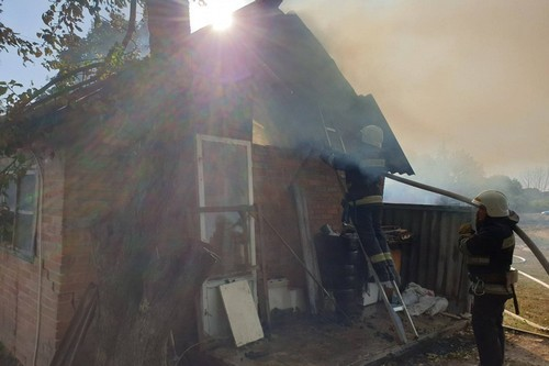 На Харьковщине стихия унесла имущество семьи (фото)