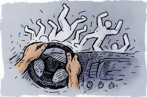 Мужчина не дошел домой: авария в Харькове