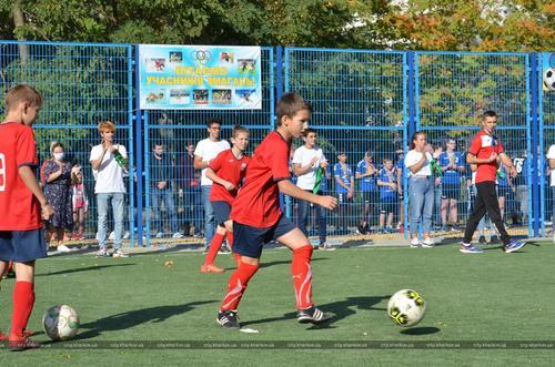 Харьковским школьникам обустроили новое место для игр