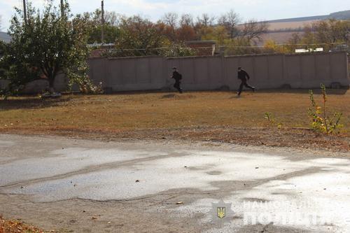 На Харьковщине «заминировали» аммиакопровод (фото, видео)