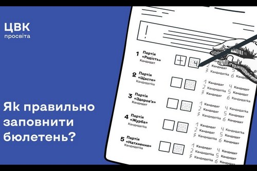 Местные выборы-2020 в Харьковской области: какие будут бюллетени и как их правильно заполнить (видео)