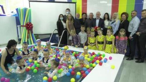 В детсаду Харькова открыли водную локацию