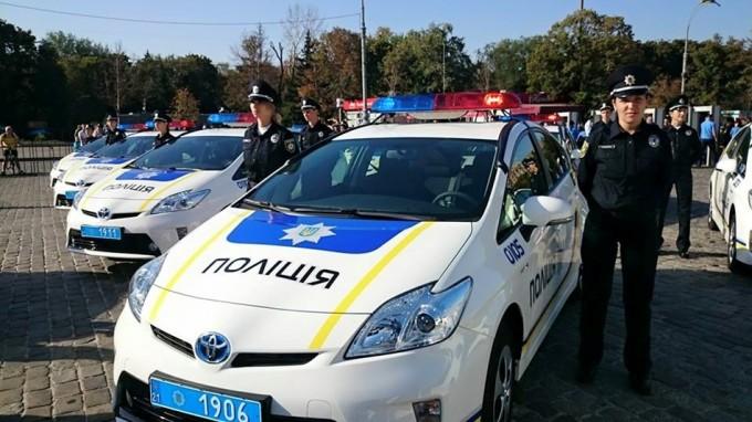 В Харькове избили патрульного
