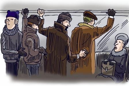 В Харькове старичок поймал серийного преступника