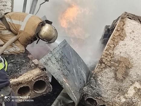 Взрыв газа на Харьковщине: появилось видео с места происшествия