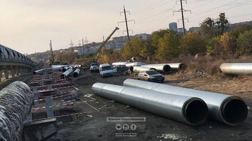 Новая дорога на Салтовку: как продвигается строительство (фото, дополнено)
