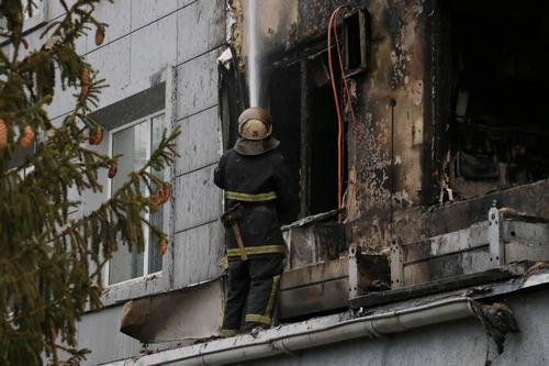 В Харькове спасали мясокомбинат (фото)