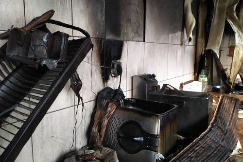 Женщина повредила спину и руки в кафе под Харьковом (фото)