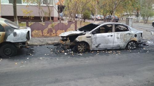 В Харькове возле детского сада произошел пожар (фото)
