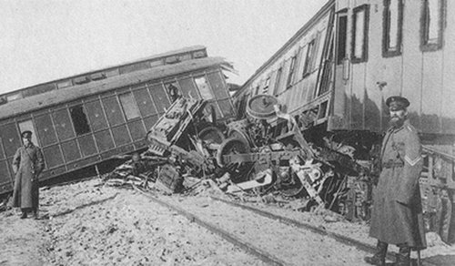 Катастрофы в Харьковской области. Железная дорога