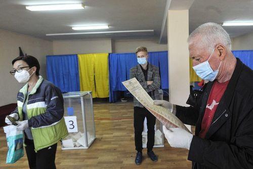 Первые официальные результаты выборов на Харьковщине