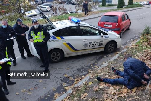Погоня в центре Харькова. Очевидцы сообщили подробности  (фото, видео)