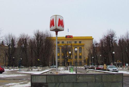 В Харькове подтопило станцию метро (фото)