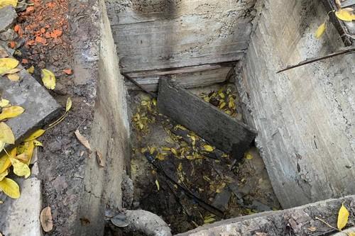 Харьковская пенсионерка в собственном дворе угодила в ловушку. Как вышли из ситуации (фото)