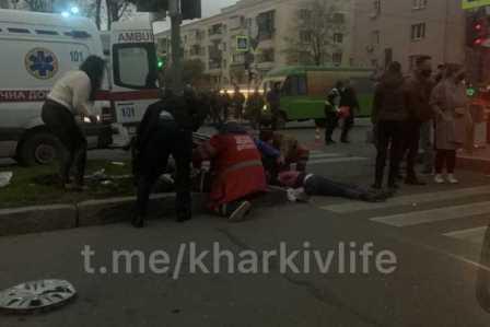 Стало известно, кто сбил четверых пешеходов на островке безопасности в Харькове (видео)