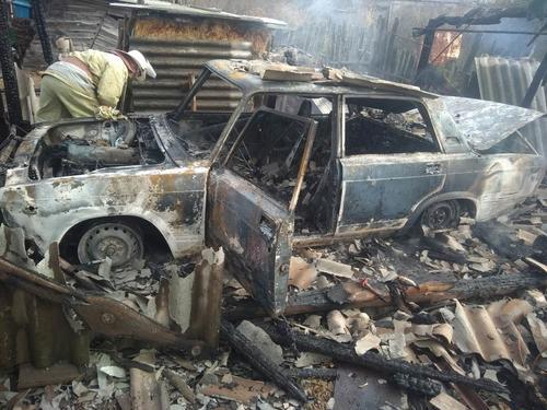 Житель Харьковской области за утро лишился автомобиля (фото)